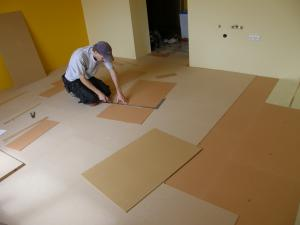 MDF FORBO Quick fit system